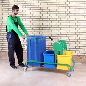 ترالی نظافت AzinSanat 2150