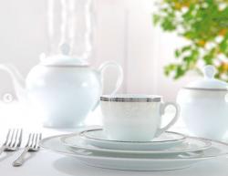 سرویس چینی 12 پارچه چايخورى ریوا پلاتين